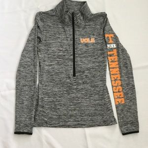 VS PINK Ultimate 1/2 Zip    Tenn VOLS